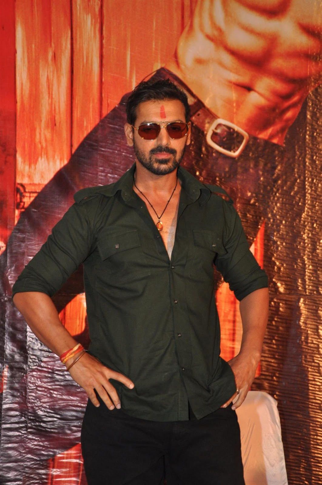 John Abraham at SHOOTOUT AT WADALA first Look launch ...