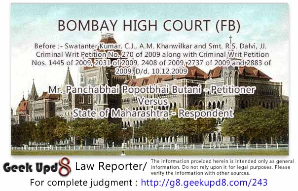 There is no requirement that in the application or complaint detailed factual allegations should be made, No particular format of application or petition to Magistrate under Section 156 ( 3 ) is provided or is required to be made bOMBAY hIGH cOURT