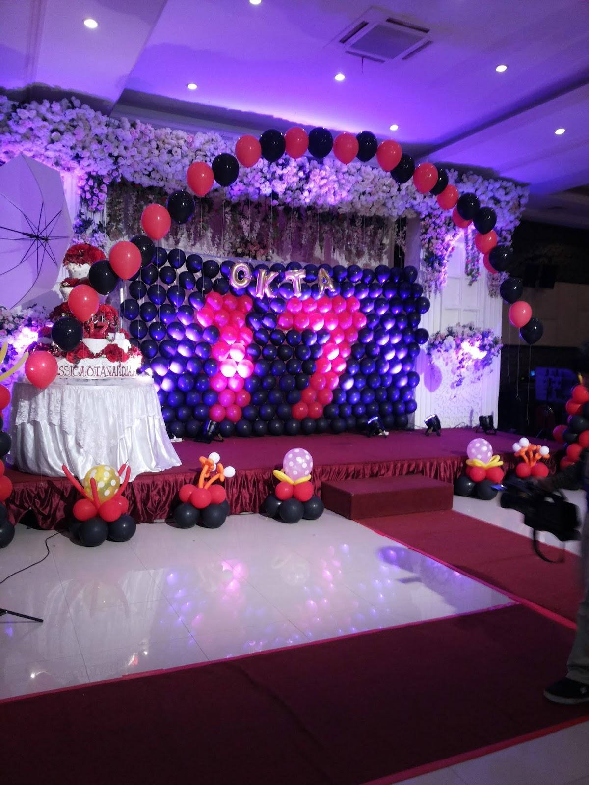 Dekorasi balon surabaya for Dekor ulang tahun