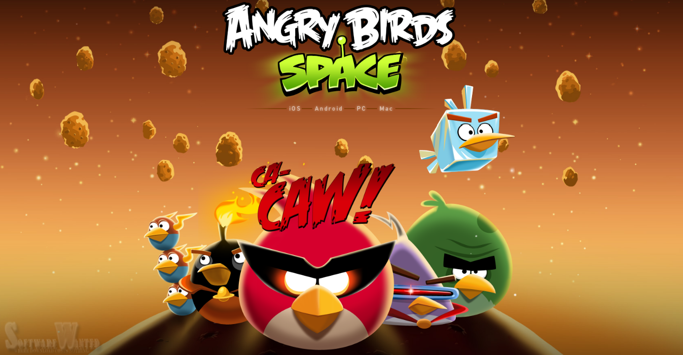 angry birds space desktop wallpapers collection software