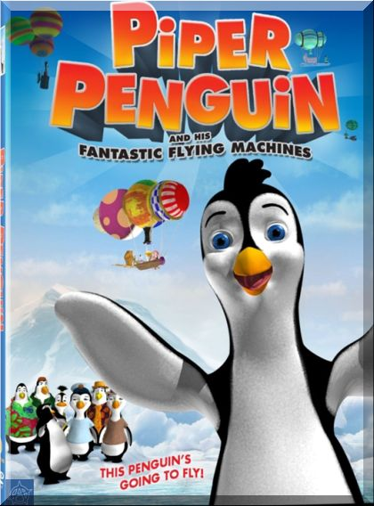 Piper Penguin and His Fantasic Flying Machines DVDRip XViD