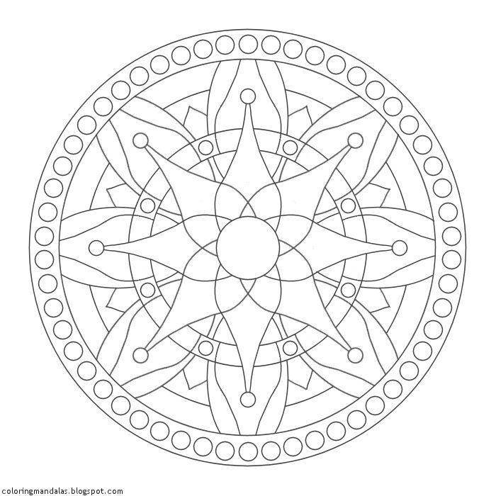 Coloring Mandalas 37 Nourish