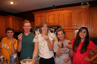 Five Teens and a Babycakes Cupcake Maker