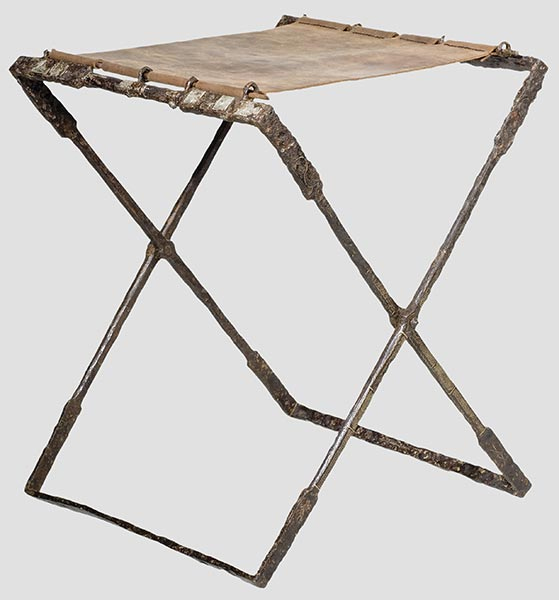 Two Roman Iron Folding Seats From Online Auction Catalogues Of Hermann  Historica, Munchen Germany. (left) Late Roman/early Byzantine, Dating From  3rd   4th ...