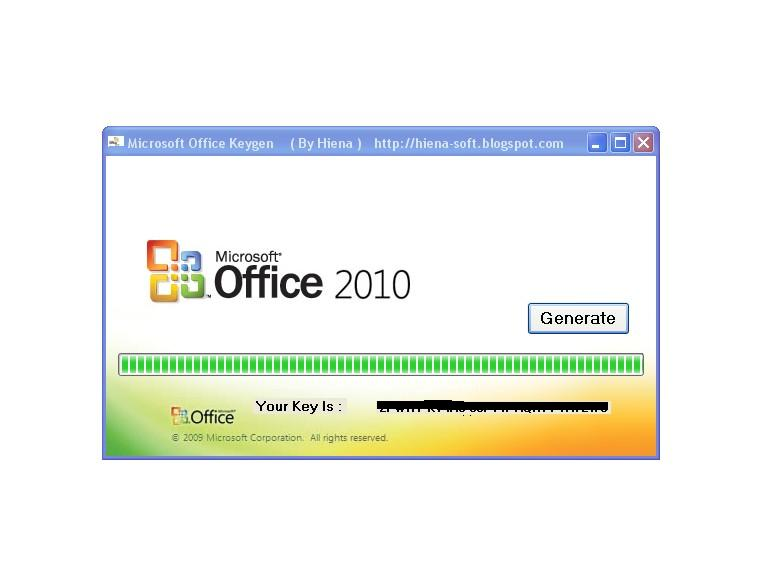 Microsoft office 2010 - Serial key for... - Dark S0ul ...