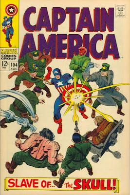 Captain America #104, Jack Kirby