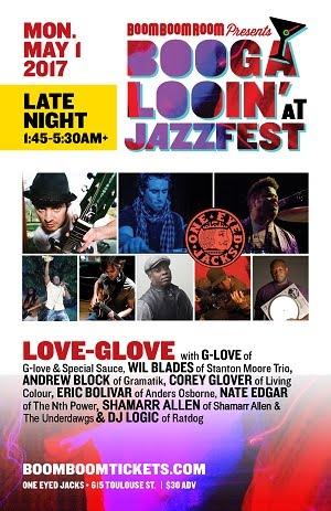 5/1 : BBR Presents: *G-LOVE & COREY GLOVER* in **LOVE-GLOVE** ft. GLove, C.Glover & more!