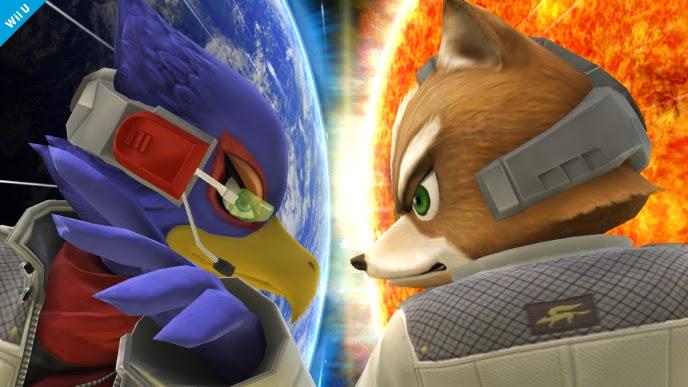 falco fox super smash bros wii u secret character screenshot
