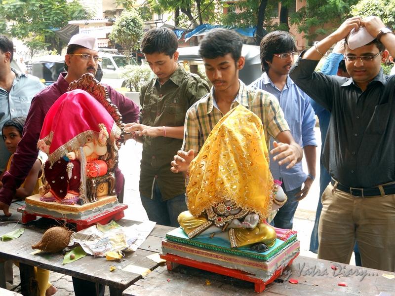 Before Ganesh Sthapana, Ganesh Chaturthi Festival, Mumbai