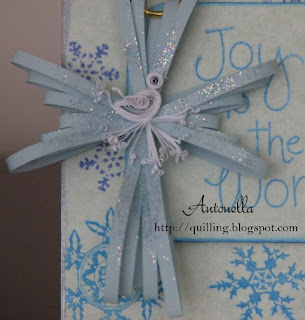 quilling quilled spreuer cross ornament