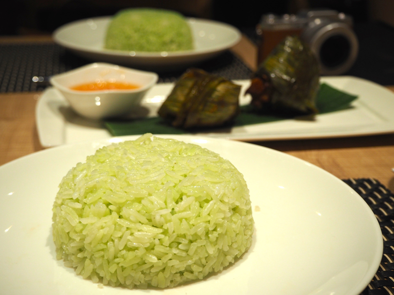ParaThai Pandan Leaf Rice Food Review Lunarrive Singapore Lifestyle Blog