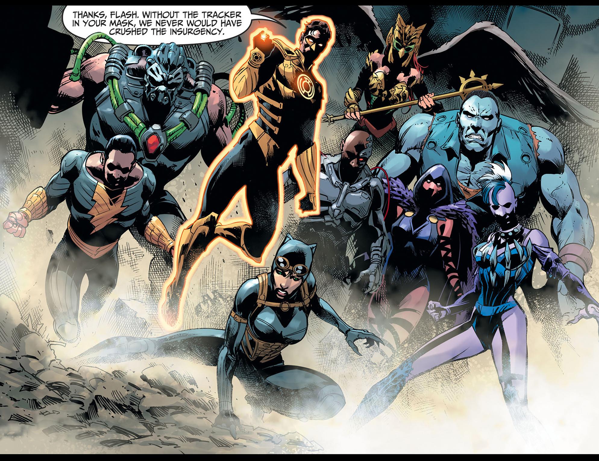 Read online Injustice: Ground Zero comic -  Issue #21 - 13