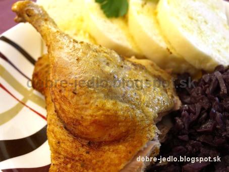 Pečená kačica na horčici - recepty