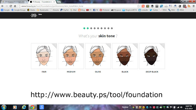 PS Beauty's Website Racist Photo