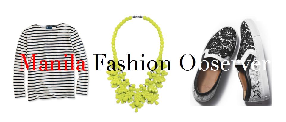 manila fashion observer