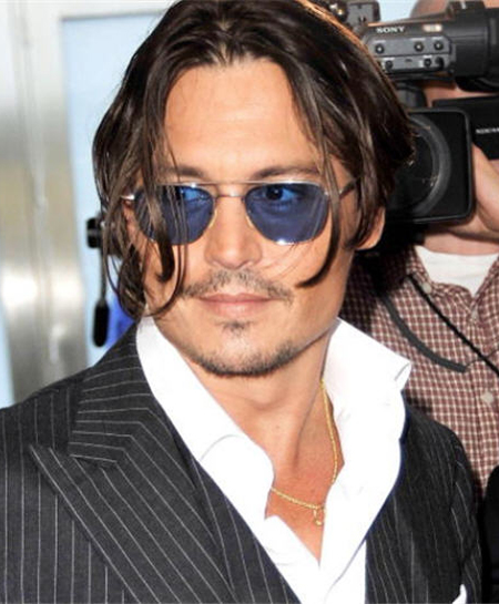 Johnny Depp Hairstyle 4