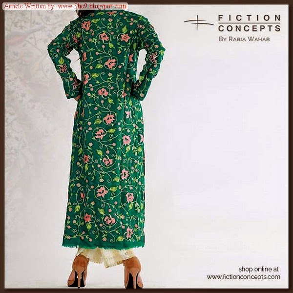 Fiction Concepts by Rabia Wahab Winter / Fall Collection 2014-2015