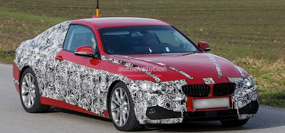 Spyshots: Production BMW 4-Series Sports Coupe