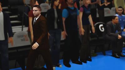 NBA 2K13 Coach Scott Brooks Cyberface Patch