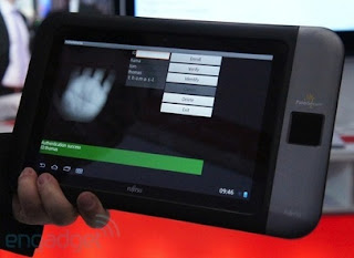 Fujitsu to Showcase Tablet Prototype with PalmSecure Features