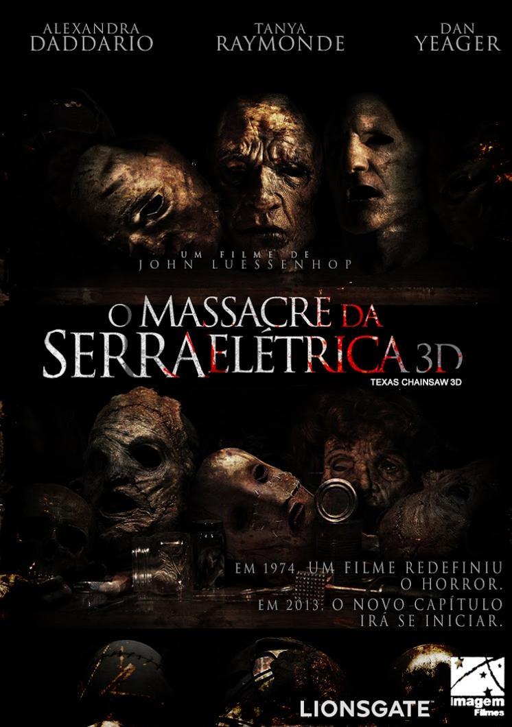O Massacre da Serra Elétrica 3D (Legendado) CAM RMVB