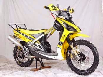 Top modifikasi mio sporty jadi trail