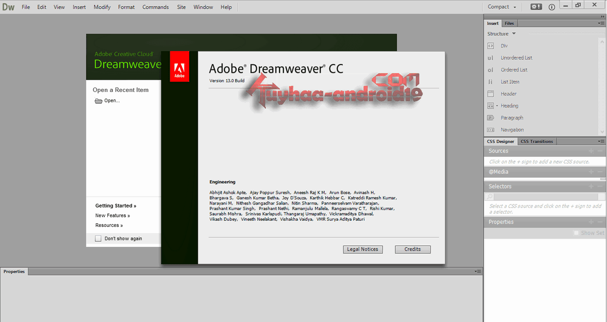 Adobe Dreamweaver CC 13.2 Build 6466 Multilanguage Terbaru