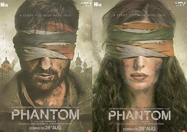 full cast and crew of bollywood movie Phantom! wiki, story, poster, trailer ft Saif Ali Khan, Katrina Kaif