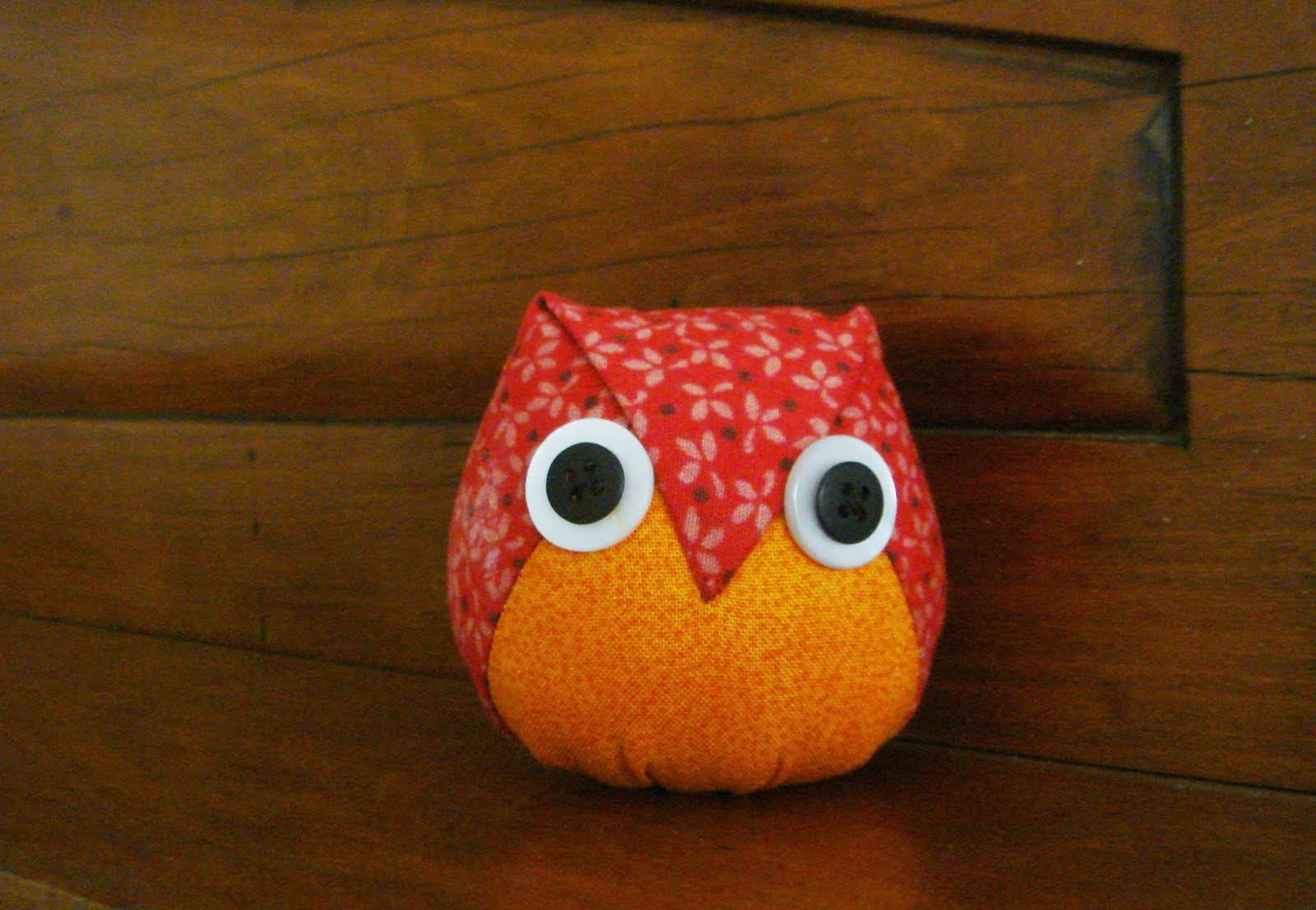 Gataria folded owl for Owl templates for sewing