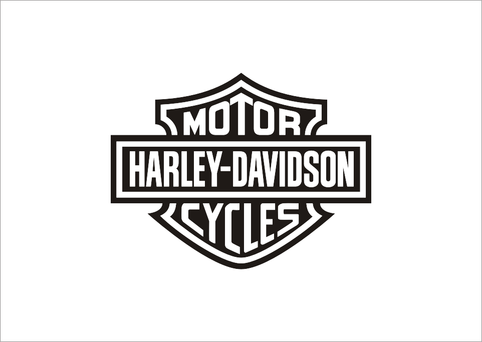 It is a picture of Unusual Printable Harley Davidson Logo