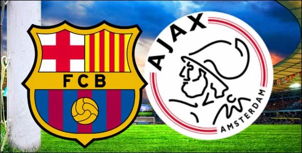 مباراة برشلونة وأياكس أمستردام والقنوات الناقلة اليوم الأربعاء 5/11/2014