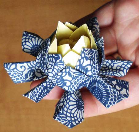 452 x 431 · 30 kB · jpeg, Make origami flowers 3d