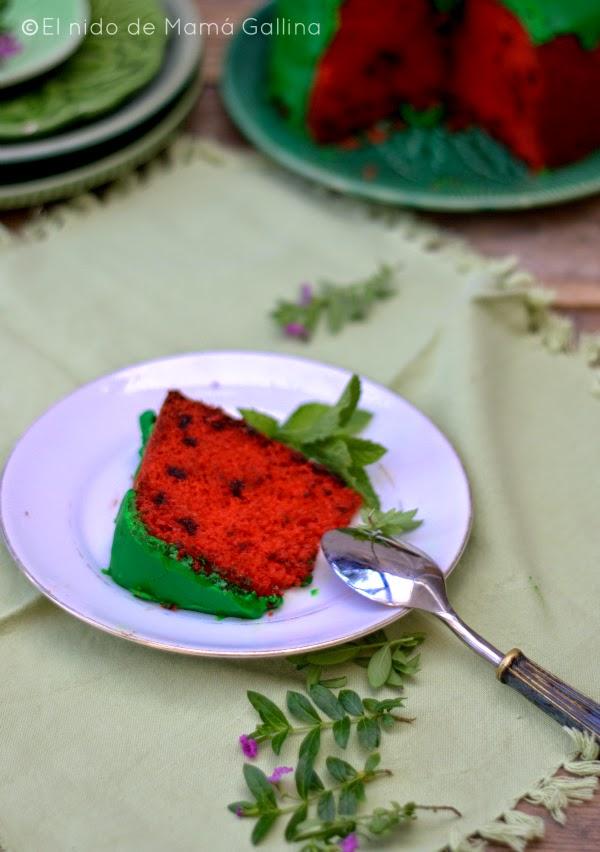 wathermelon cake