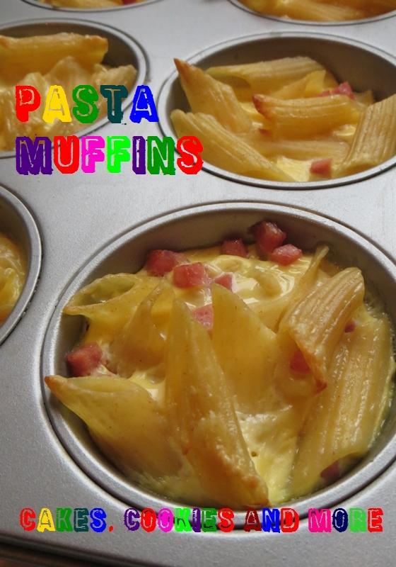 Pastta Muffins mit Schinken