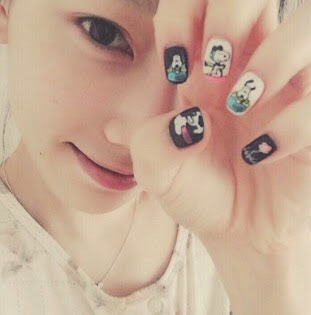 Popular opi nail polish one of my favorite artist that like to do the nail art is tae yeon from girls generation prinsesfo Image collections