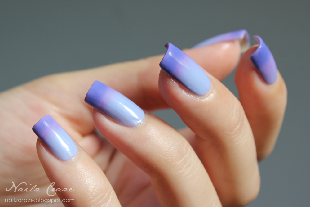 modern nail color: Dance Legend Thermal Trio № 1