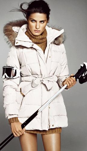Mango mujer invierno 2011 2012 colección Ski Slope