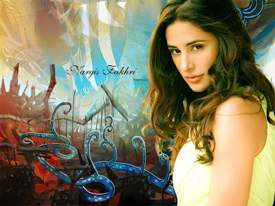 Nargis Fakhri Latest Beautiful Wallpaper