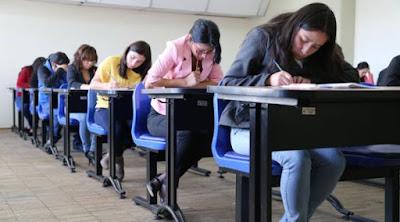resultados, examen de inglés, UCE