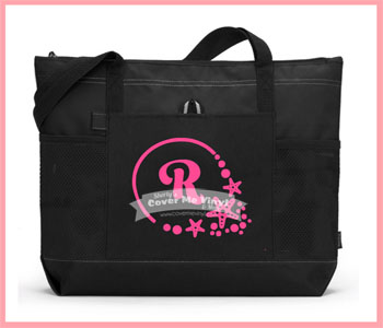 Starfish Letter Tote Bag