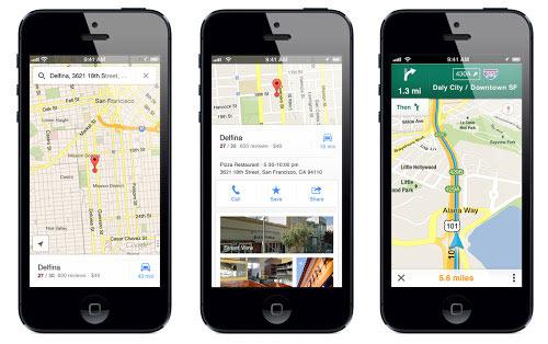 Vuelve Google Maps a iOS