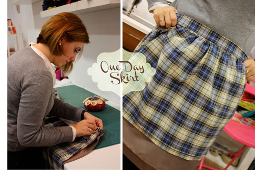 TALLER MONOGRÁFICO ONE DAY SKIRT sweet sixteen craft store