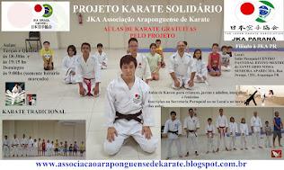 Projeto Karate Solidário