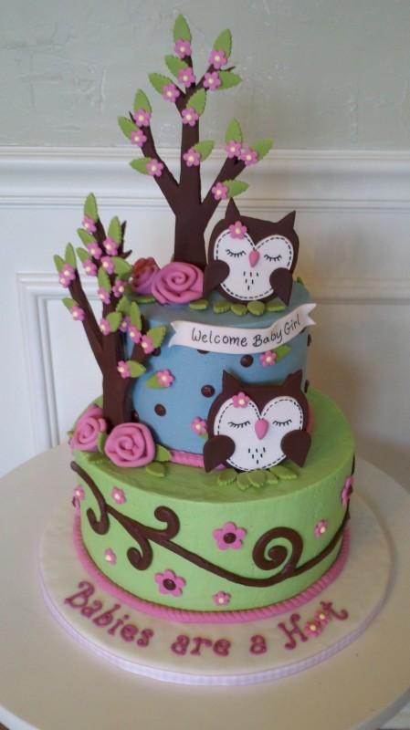 Cake Baby Shower Owl : Querido Ref?gio - Blog de decoracao: Fofurices: Corujas em ...