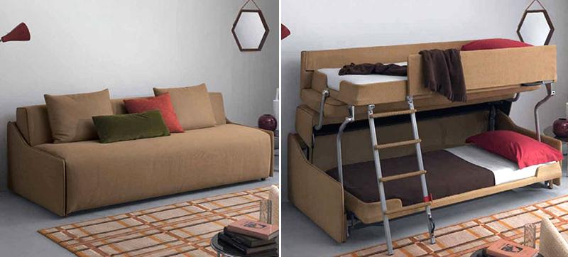 A minha alegre casinha sof cama que se transforma em beliche for Sofa que vira beliche
