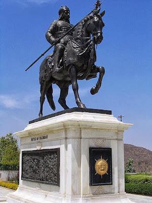 Maharana Pratap Memorial at Moti Magri, Udaipur