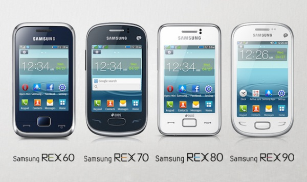 samsung rex mobiles