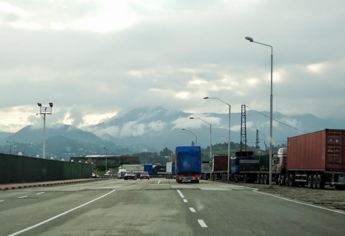 Горы в Батуми
