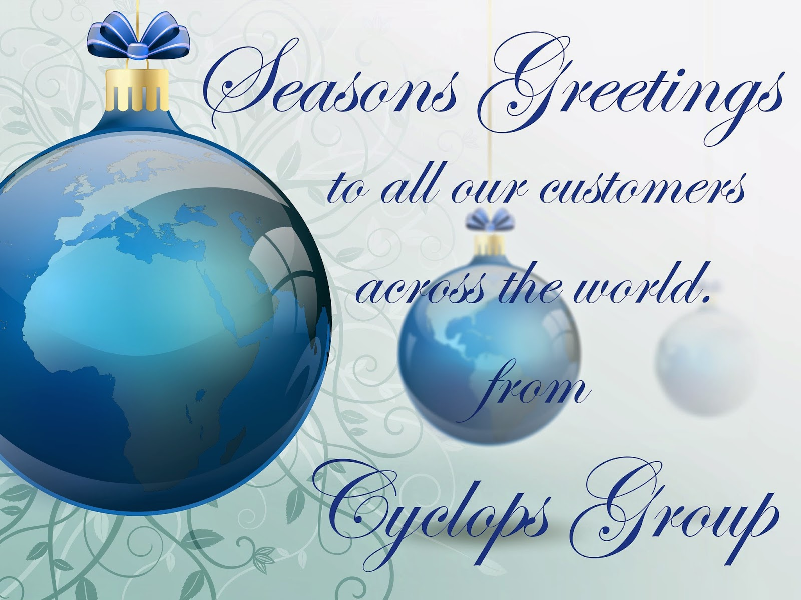 Cyclops Electronics Ltd Blog Seasons Greetings And Best Wishes For