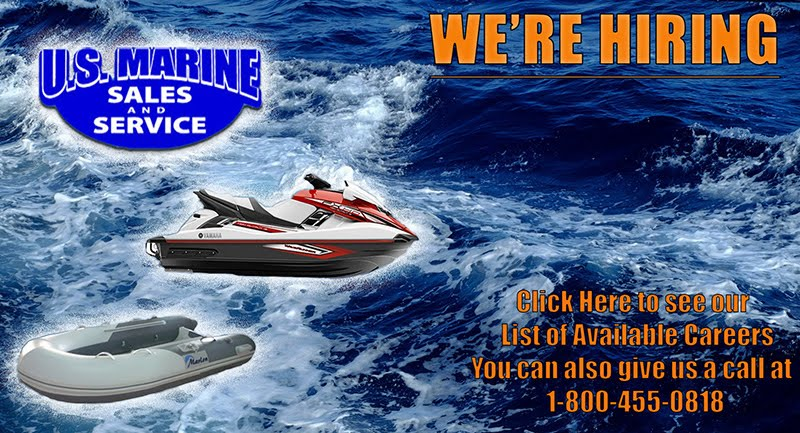 US Marine Sales  & Service Now Hiring!!
